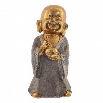 Фигурка декоративная будда, l6,5 w7 h13 см