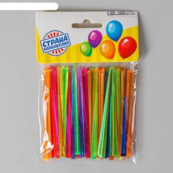 Шпажки для канапе цветная ( набор 50 шт), цвета микс