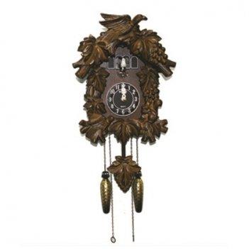 Настенные часы с кукушкой sinix 601f