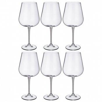 Набор бокалов для вина из 6 шт. amundsen/ardea высота=24,5 см 670 мл (кор=