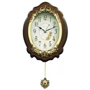 Настенные часы с маятником b&s sa 2117