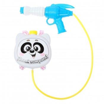 Водный пистолет «панда», ранец-баллон