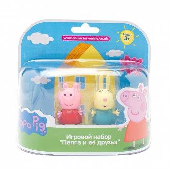 Игровой набор peppa pig. пеппа и джордж