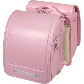Ранец с клапаном, аналог рандосеру, 35 х 24 х 18, кожзам, для девочки, роз