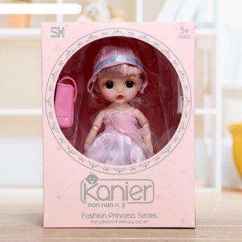 Кукла модная лера в платье