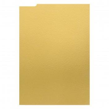 Картон фольгированный для детского творчества а3 420*297/0.0 520 г/м2 золо