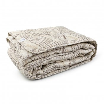 Одеяло, размер 200 x 220 см , меринос, 300 г/м2