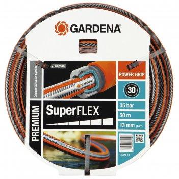 Шланг, d = 12 мм (1/2), l = 50 м, 3-слойный, армированный, gardena superfl