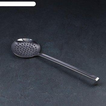 Шумовка цельнотянутая диаметр 12 см, толщина стали 3 мм