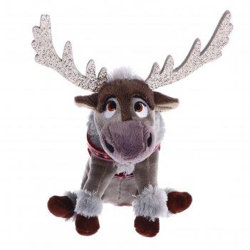 Мягкая игрушка «олень свен» со звуком, 15 см