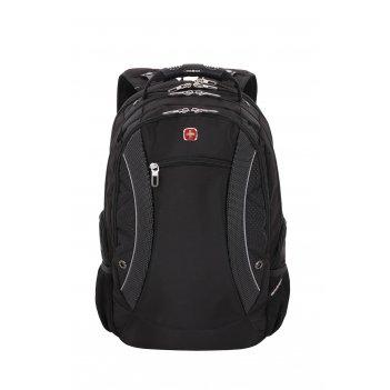 Рюкзак swissgear «scansmart», 17 , чёрный, полиэстер, 36х23х48 см, 40 л