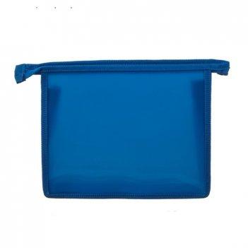 Папка для тетрадей а5 молния сверху синяя