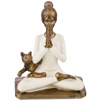 Статуэтка йога серия фьюжн 11*8*14 см. (кор=36шт.)