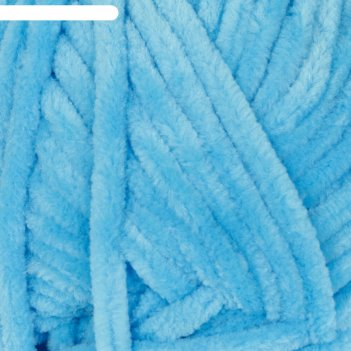 Пряжа dolce 100% микрополиэстер 120м/100гр (758 т. голубой)