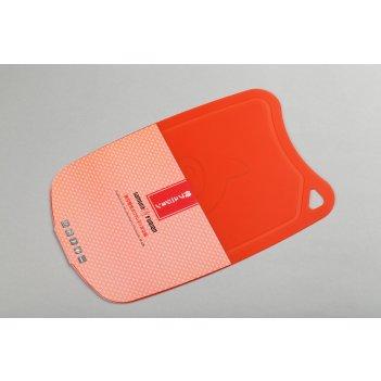 Доска термопластиковая с антибактериальным покрытием (красный) samura fusi