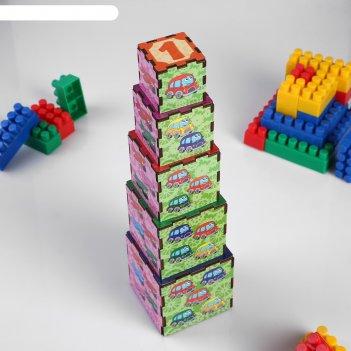 Кубики-пирамидки транспорт