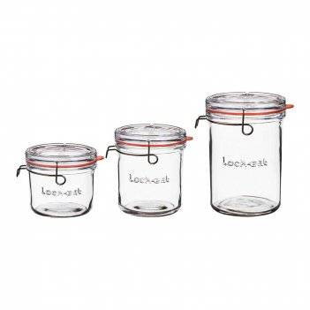 Bormioli rocco набор емкостей для хранения lock-eat