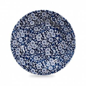 Тарелка обеденная «викторианский ситец», диаметр: 25 см, материал: фарфор,