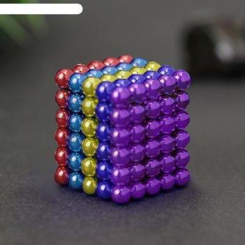 Неокуб голубой, 125 шариков d=0,5 см