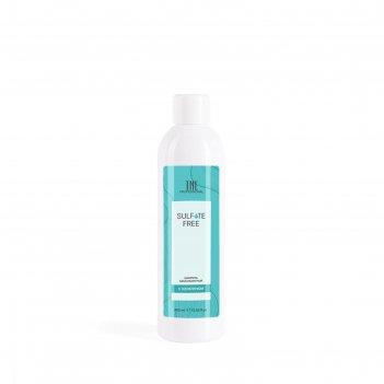 Бессульфатный шампунь tnl sulfate free с кератином, 400 мл