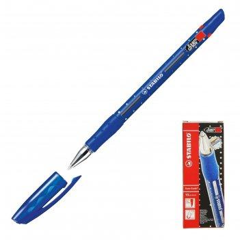 Ручка шариковая stabilo масляная основа exam grade (для экзаменов) 0.7мм,