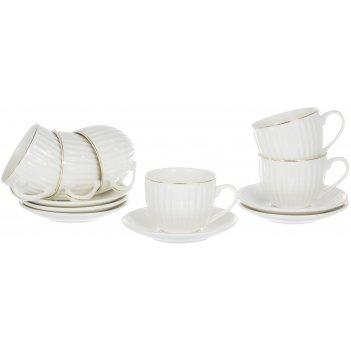 Набор чайный грация «анжелика» 220 мл, 12 предметов