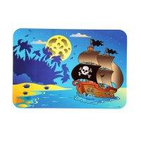 Настольное покрытие для лепки 330х230мм пиратский кораблик