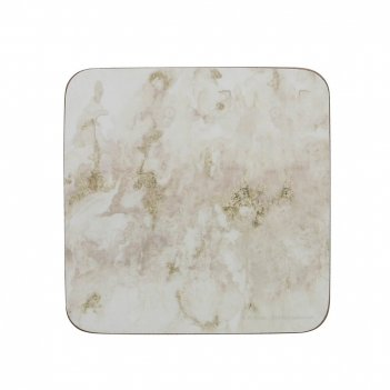 Creative tops набор из 6 подставок grey marble 10x10