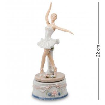 Cms-19/21 муз. фигурка балерина (pavone)