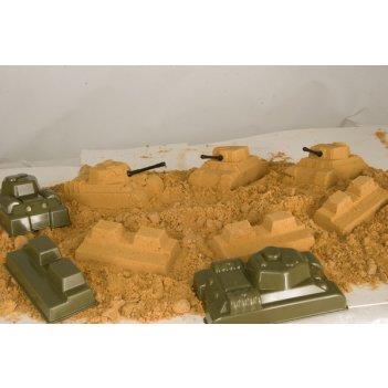 Набор песочный танковый бой