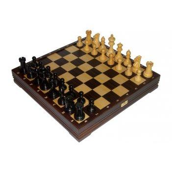 Шахматы классические деревянные утяжеленные 43х43см