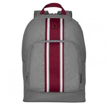 Рюкзак wenger crango 16  , серый, полиэстер 600d, 33x22x46 см, 27 л