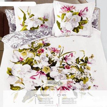 Кпб magnolia 2 сп, размер 215х240 см, 175х210 см, 50х70 см, 70х70 см по 2
