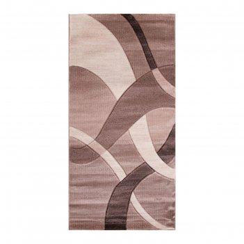 Прямоугольный ковёр omega hitset 7690, 2 х 5 м, цвет bone-beige