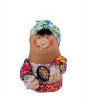 Кукла-шкатулка марфуша с ложкой мал.