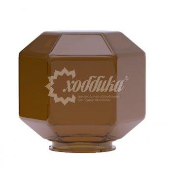 Светильник венчающий «поликуб» бронзовый