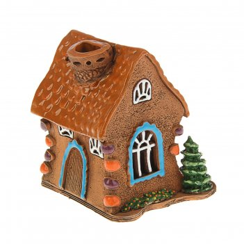 Аромалампа домик зима, ручная работа