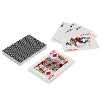 Карты для покера monte carlo, черная рубашка