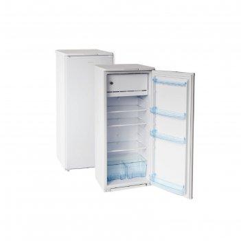 Холодильник бирюса 6, 122 л, класс a, перевешиваемая дверь, белый