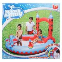 Игровой бассейн замок, 201х193х140 см, 270 л