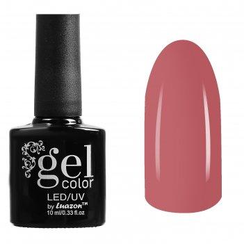 Гель-лак для ногтей трёхфазный led/uv, 10мл, цвет в1-051 нежно-розовый