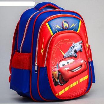 Ранец с жестким карманом, тачки