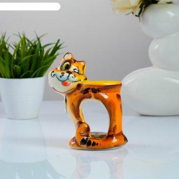 Подсвечник-аромалампа хитрый кот, рыжий
