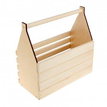 Ящик для инструментов и цветов(кашпо) 40*40*20см
