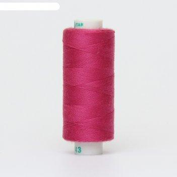 Нитка дор-так pl 40/2 400 ярд, цвет розовый 143 к09