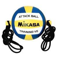 Мяч волейбольный на растяжках mikasa v5 attr -wyb