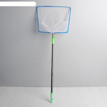 Сачок детский телескопическая ручка углы полная длина 110 см 2х28х71,5 см