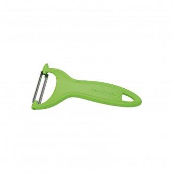 Овощечистка tescoma presto expert с поперечным лезвием, цвет зелёный