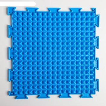 Модульный массажный коврик орто льдинка, микс