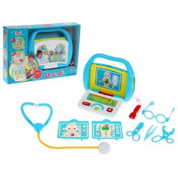 Набор игровой набор доктора узи, со сканером, 8 предметов